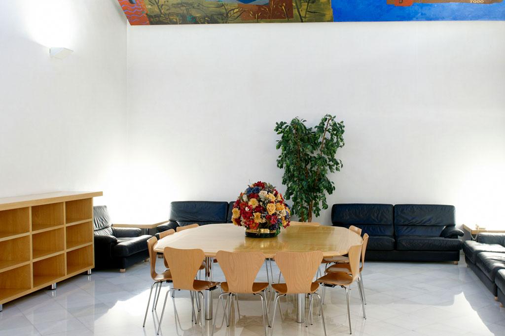Sala de Autoridades. Auditorio de Zaragoza