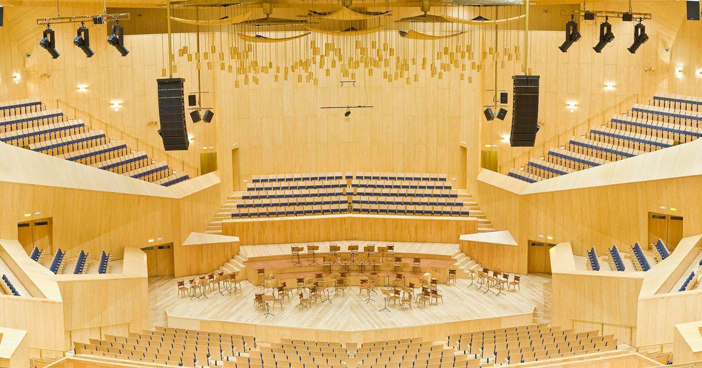 Sala Mozart. Auditorio de Zaragoza