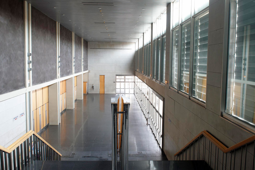 Hall. Sala Multiusos. Auditorio de Zaragoza