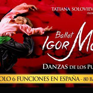 DANZAS DE LOS PUEBLOS DEL MUNDO. Ballet de Igor Moiseyev